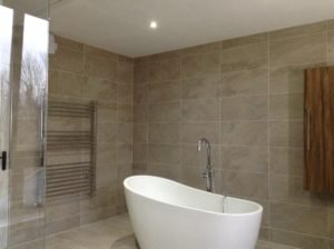 old bedroom refurb to new wetroom and bath